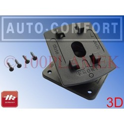 Ramię sztywne obrotowe 3D wkręty - 57510011 - HR Auto-Comfort