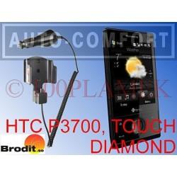 Uchwyt aktywny z ładowarką na wkręty HTC P3700 TOUCH DIAMOND BRODIT