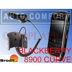 Uchwyt aktywny z ładowarką na wkręty BLACKBERRY CURVE 8900 BRODIT