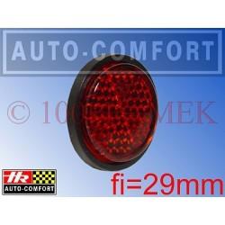 Światła odblaskowe czerwone fi=29mm - 14041 - HR Auto-Comfort