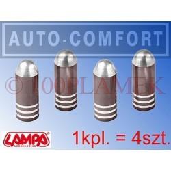 Nakrętki kapturki na wentyle samochodowe LAMPA SpA - W04