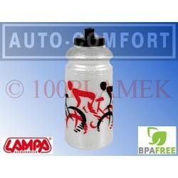 Perłowy rowerowy pojemnik na napoje, bidon - 93317 - Lampa SpA