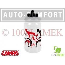 Przeźroczysty rowerowy pojemnik na napoje, bidon - 93317 - Lampa SpA