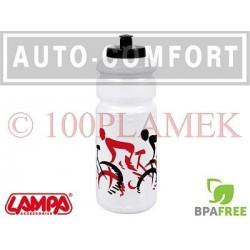 Biały rowerowy pojemnik na napoje, bidon - 93318 - Lampa SpA