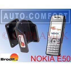 Uchwyt pasywny na wkręty NOKIA E50 - 875132 - BRODIT AB
