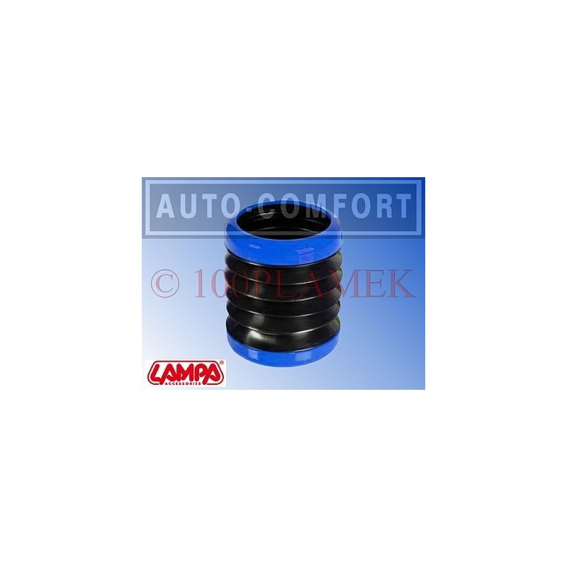 Elastyczny uchwyt na napoje niebiesko-czarny - 40201 - LAMPA SpA