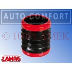 Elastyczny uchwyt na napoje czerwono-czarny - 40201 - LAMPA SpA