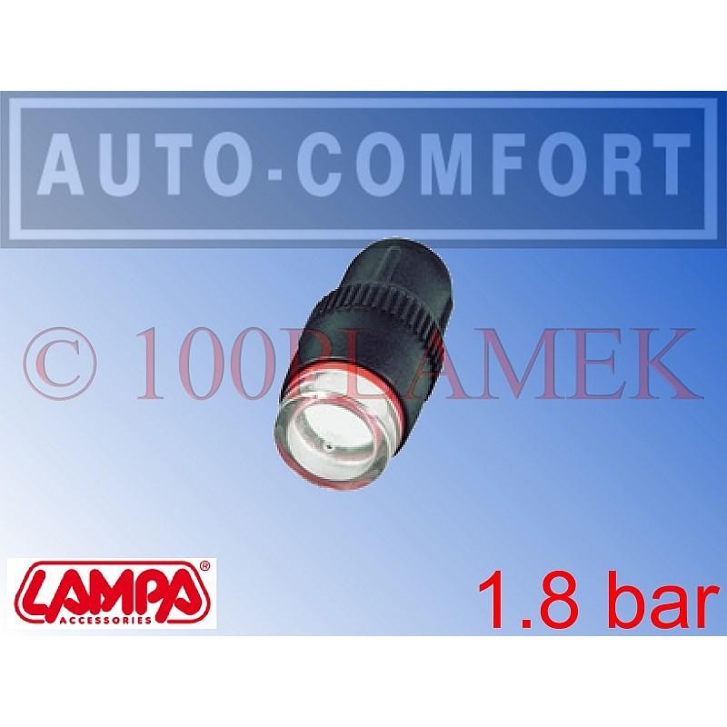 Nakrętka na wentyl, wskaźnik ciśnienia 1,8bar - Lampa SpA