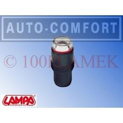 Nakrętka na wentyl, wskaźnik ciśnienia 2,4bar - Lampa SpA